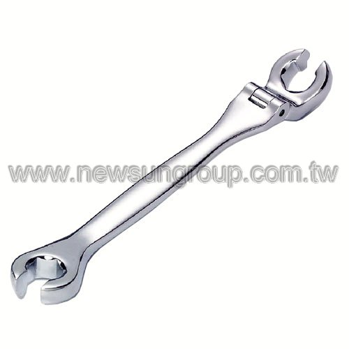 single flexible flare nut wrench price call double flexible flare